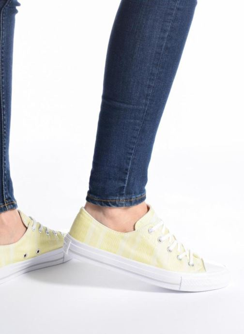 Sneakers Converse Chuck Taylor All Star Gemma Ox Engineered Lace Nero immagine dal basso