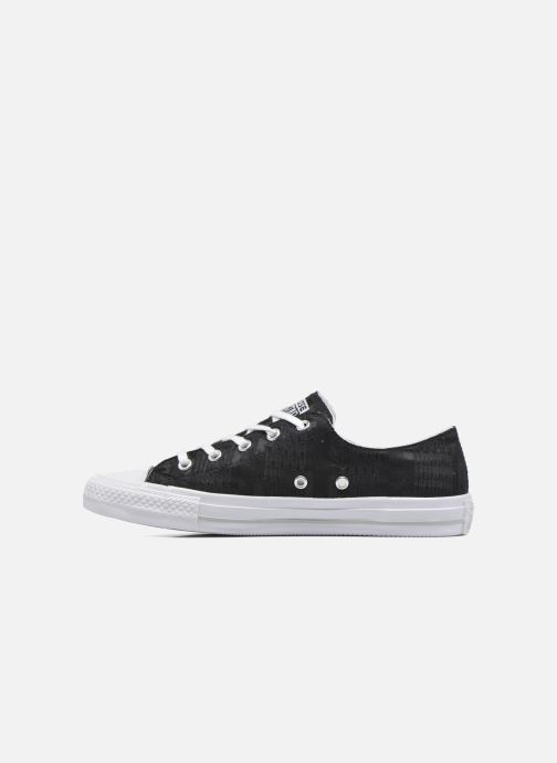 Sneakers Converse Chuck Taylor All Star Gemma Ox Engineered Lace Nero immagine frontale