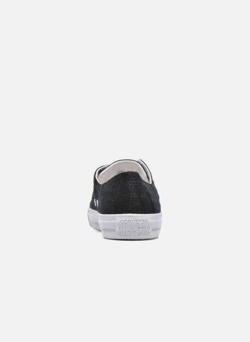 Baskets Converse Chuck Taylor All Star Gemma Ox Engineered Lace Noir vue droite