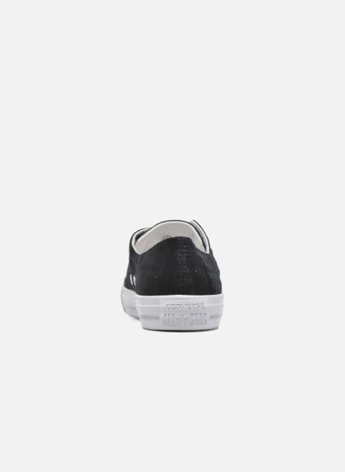 Sneakers Converse Chuck Taylor All Star Gemma Ox Engineered Lace Nero immagine destra