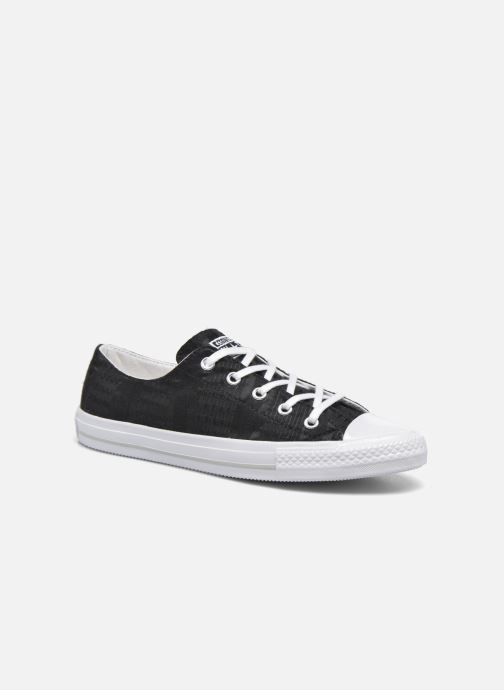 f34affcdf28 Trainers Converse Chuck Taylor All Star Gemma Ox Engineered Lace Black  detailed view/ Pair view