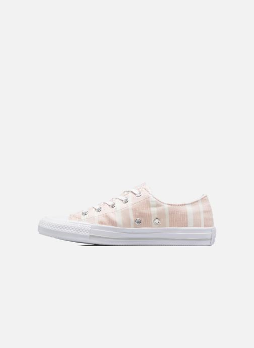 Sneakers Converse Chuck Taylor All Star Gemma Ox Engineered Lace Rosa immagine frontale