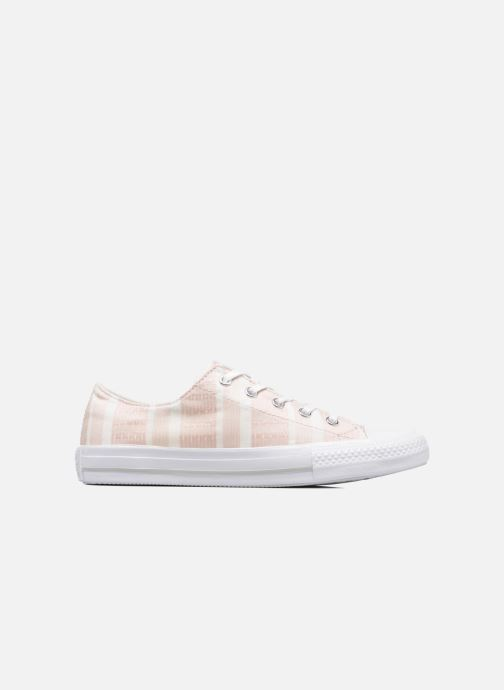 Baskets Converse Chuck Taylor All Star Gemma Ox Engineered Lace Rose vue droite
