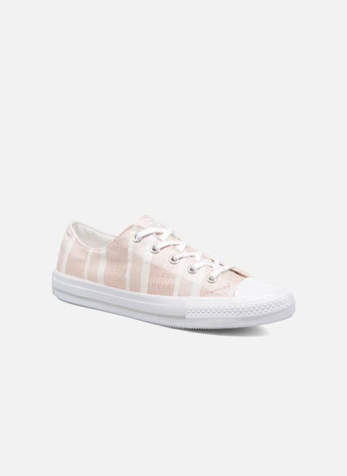 Trainers Converse Chuck Taylor All Star Gemma Ox Engineered Lace Pink detailed view/ Pair view