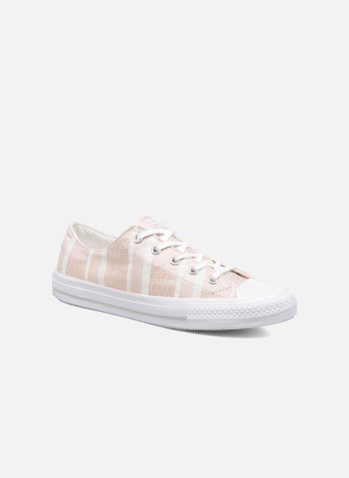 Sneaker Converse Chuck Taylor All Star Gemma Ox Engineered Lace rosa detaillierte ansicht/modell