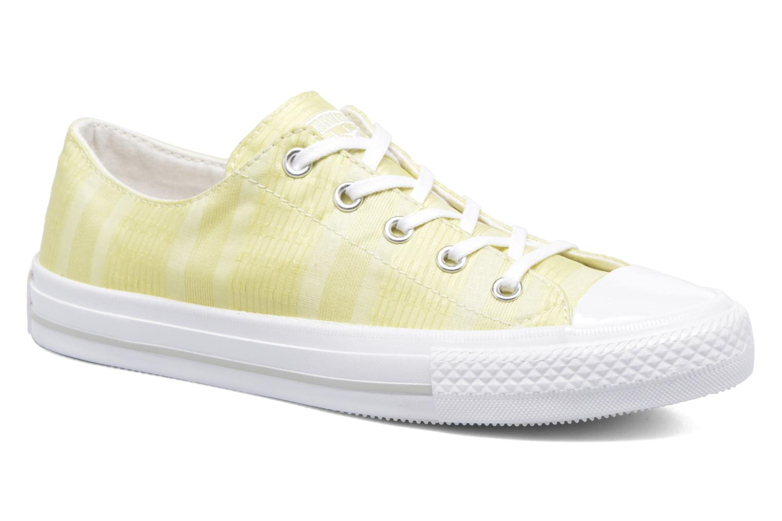 Deportivas Converse Chuck Taylor All Star Gemma Ox Engineered Lace Amarillo vista de detalle / par