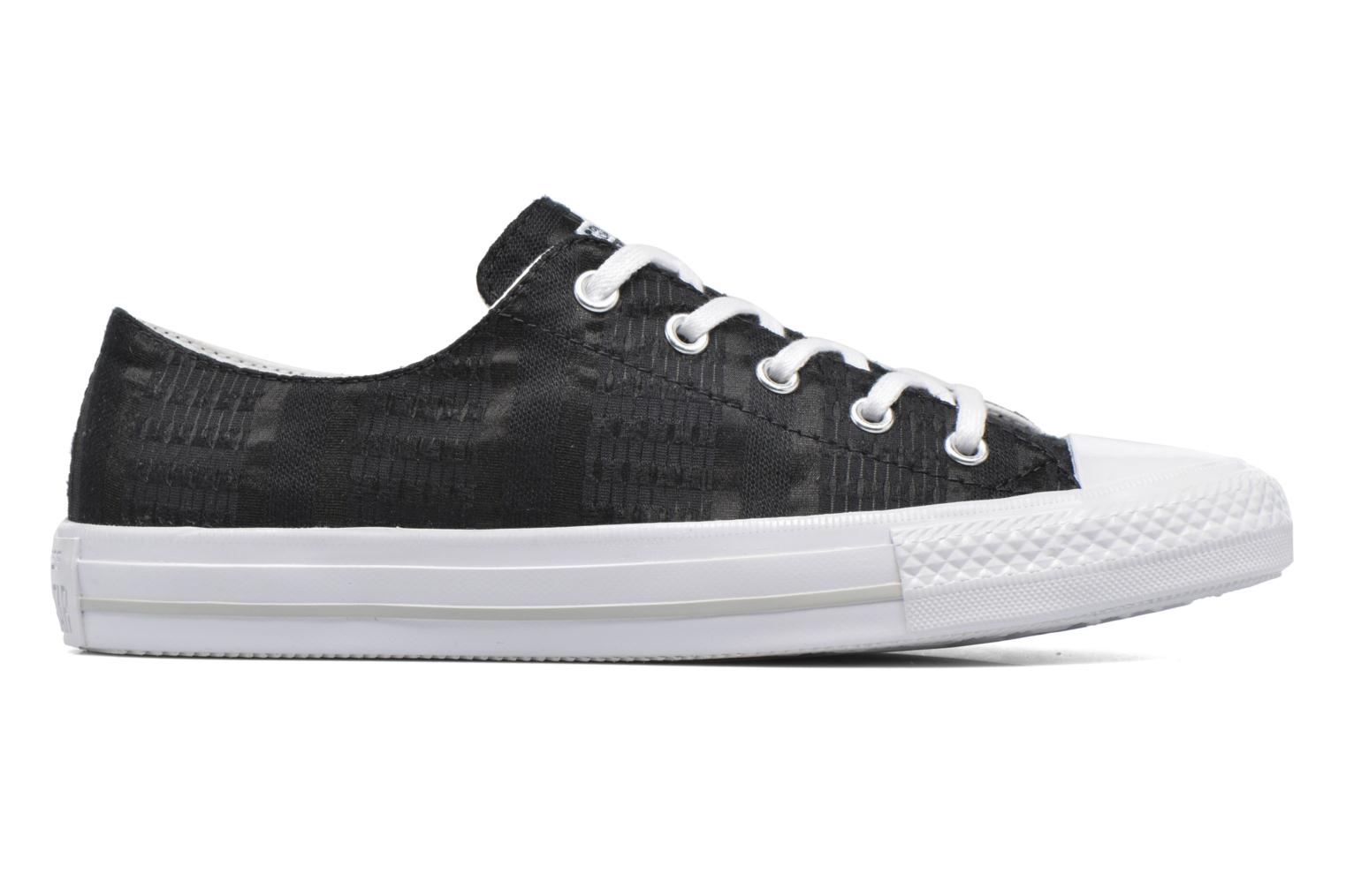 Sneakers Converse Chuck Taylor All Star Gemma Ox Engineered Lace Zwart achterkant