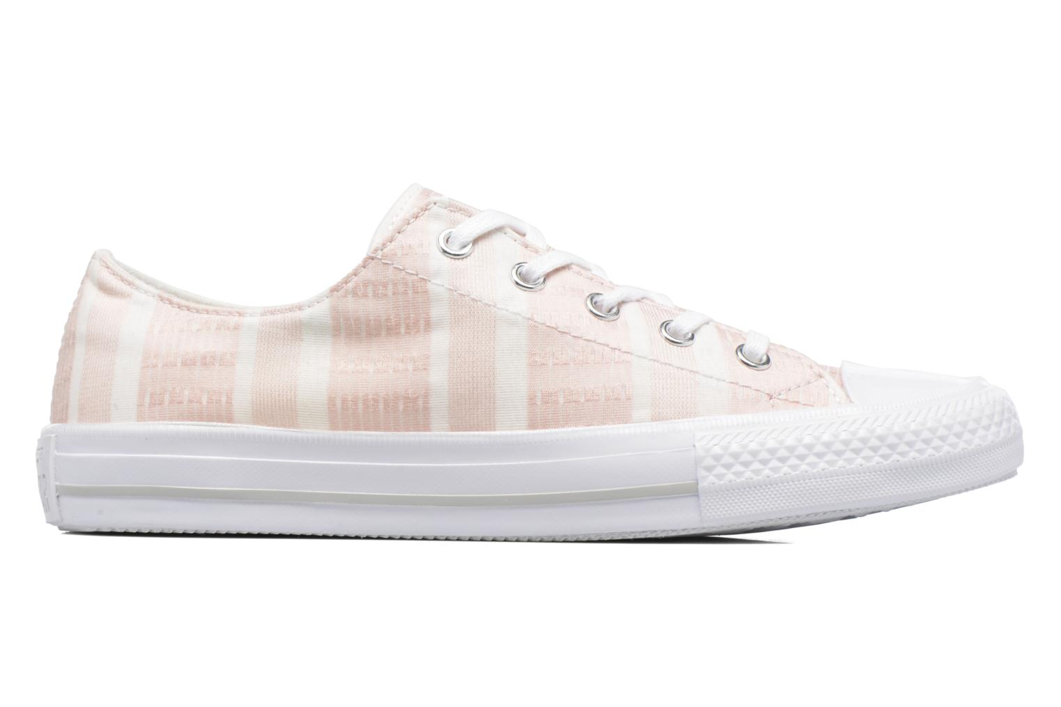 Deportivas Converse Chuck Taylor All Star Gemma Ox Engineered Lace Rosa vista lateral derecha