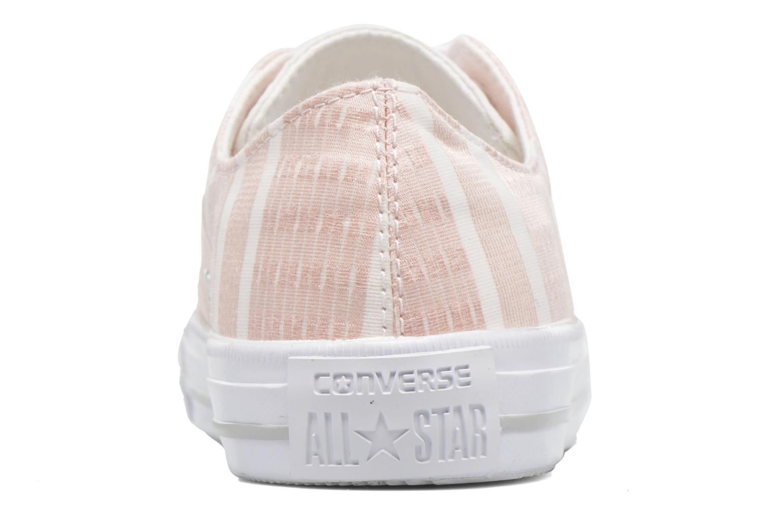 Deportivas Converse Chuck Taylor All Star Gemma Ox Engineered Lace Rosa vistra trasera