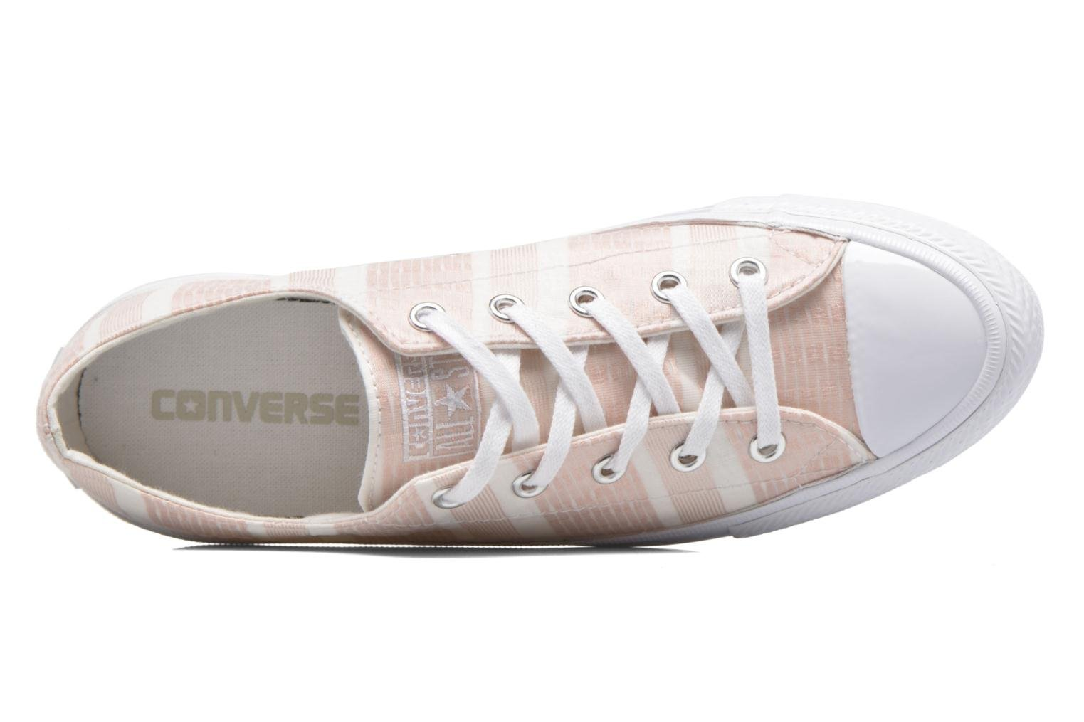 Deportivas Converse Chuck Taylor All Star Gemma Ox Engineered Lace Rosa vista lateral izquierda