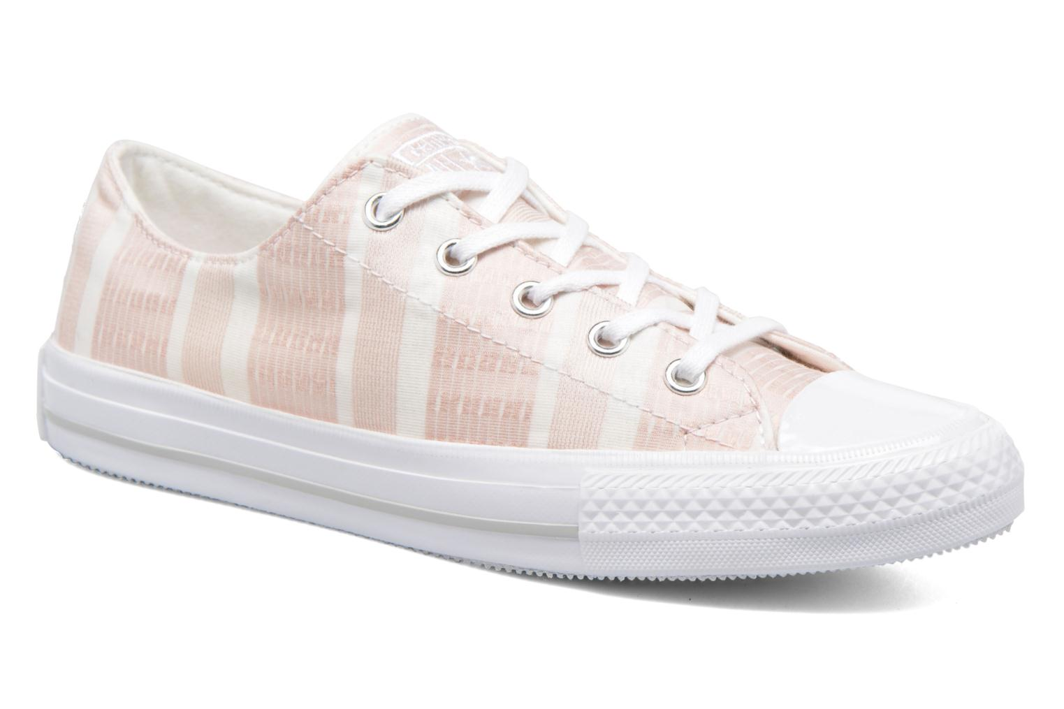 Deportivas Converse Chuck Taylor All Star Gemma Ox Engineered Lace Rosa vista de detalle / par
