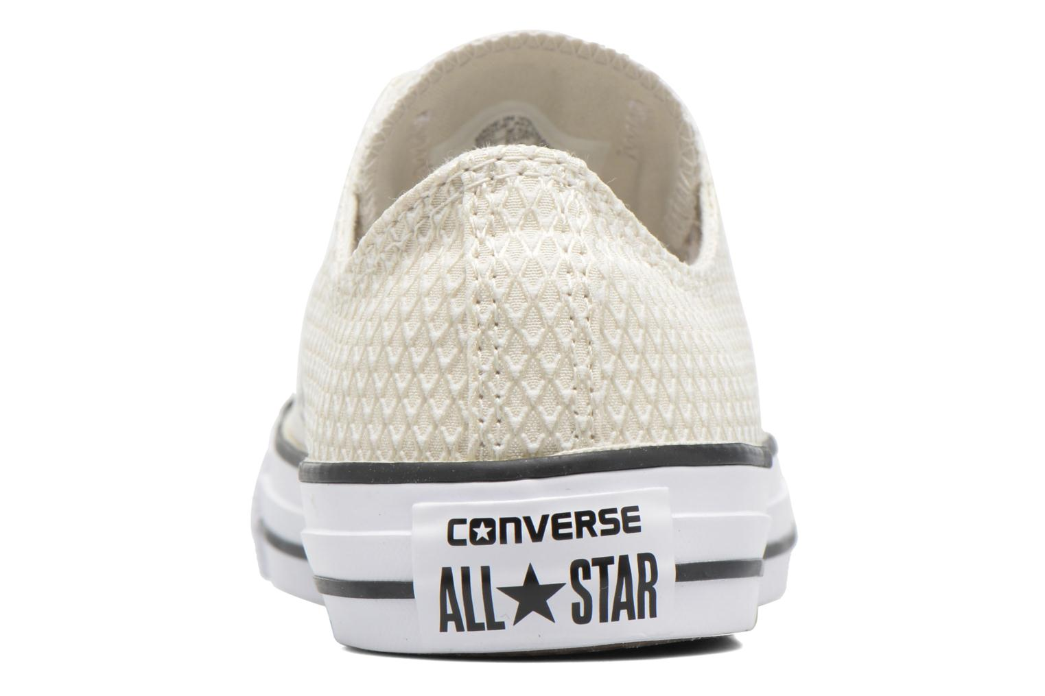 Sneakers Converse Chuck Taylor All Star Ox Snake Woven Beige immagine destra