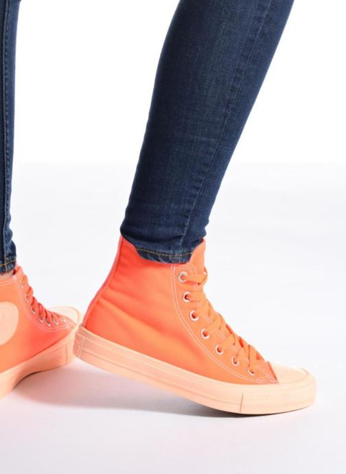 Sneakers Converse Chuck Taylor All Star II Hi Pastel Midsoles W Arancione immagine dal basso