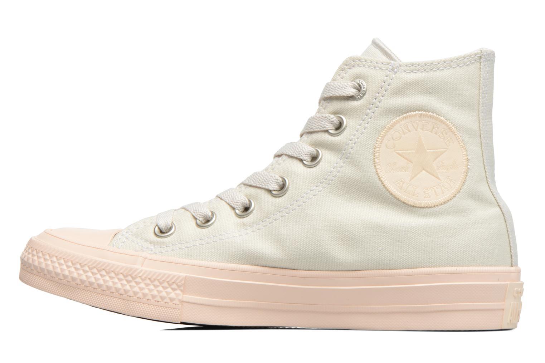 Sneakers Converse Chuck Taylor All Star II Hi Pastel Midsoles W Beige immagine frontale