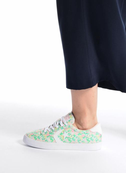 Trainers Converse Breakpoint Ox Floral Textile Multicolor view from underneath / model view