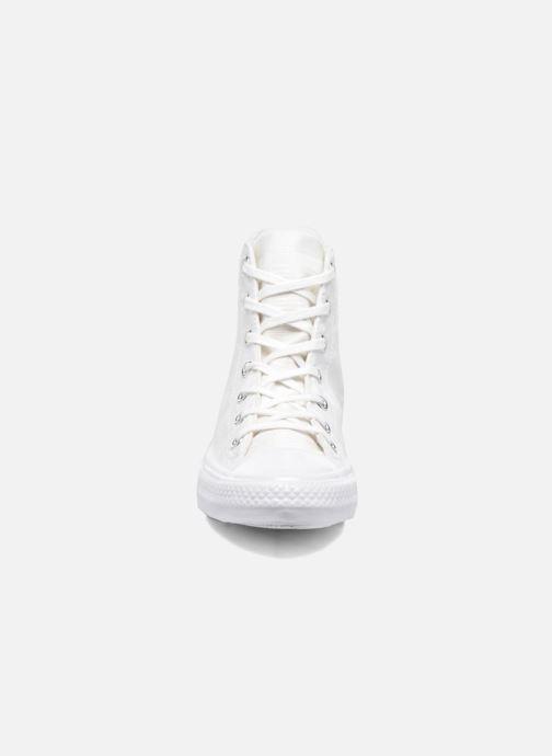 Sneaker Converse Chuck Taylor All Star Gemma Hi Engineered Lace weiß schuhe getragen