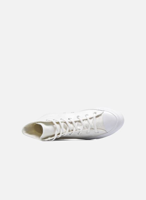 Sneaker Converse Chuck Taylor All Star Gemma Hi Engineered Lace weiß ansicht von links