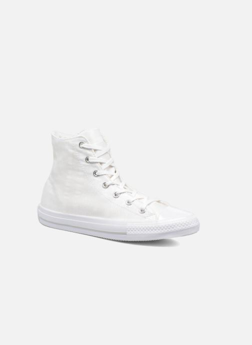 Trainers Converse Chuck Taylor All Star Gemma Hi Engineered Lace White detailed view/ Pair view