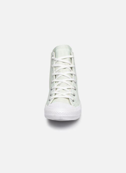 Sneaker Converse Chuck Taylor All Star Gemma Hi Engineered Lace grün schuhe getragen