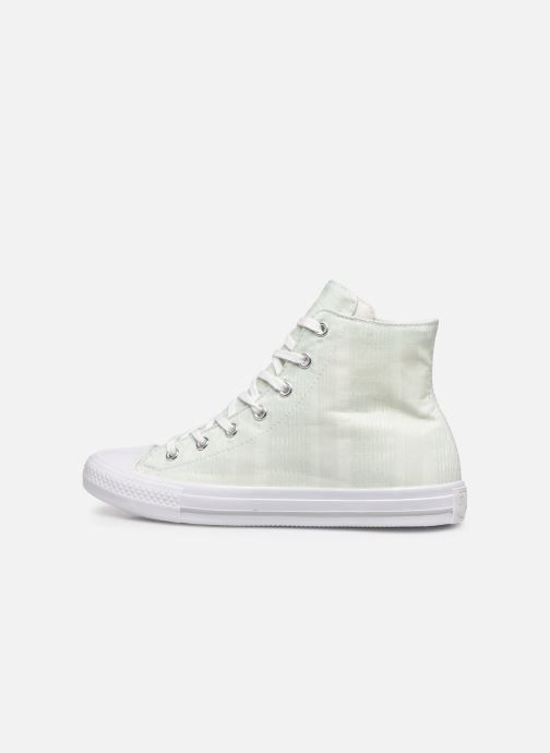 Sneaker Converse Chuck Taylor All Star Gemma Hi Engineered Lace grün ansicht von vorne