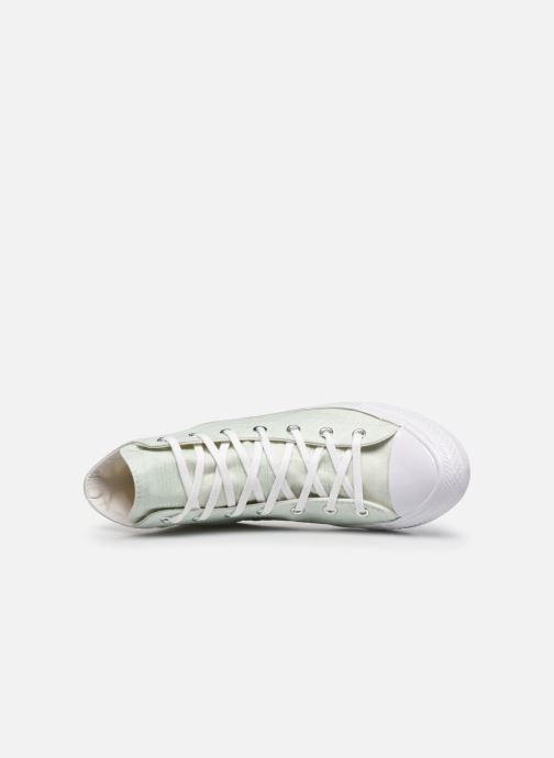 Sneaker Converse Chuck Taylor All Star Gemma Hi Engineered Lace grün ansicht von links