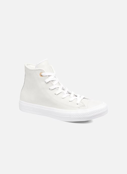 Converse Chuck Taylor All Star II Hi Craft Leather (Beige) - Baskets chez