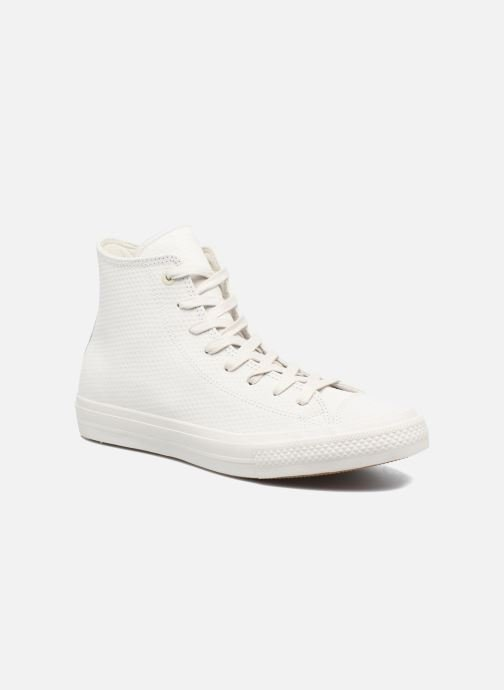 fa10a7f139ca Converse Chuck Taylor All Star II Hi Lux Leather (Beige) - Trainers ...
