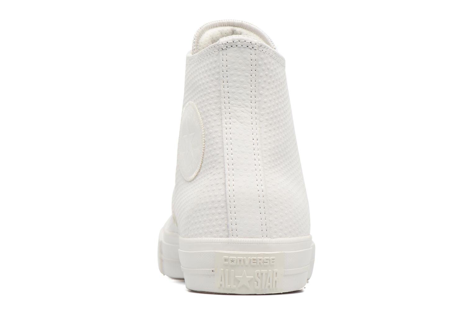 Baskets Converse Chuck Taylor All Star II Hi Lux Leather Beige vue droite