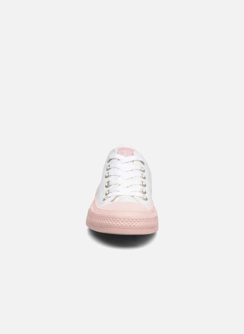 Sneaker Converse Chuck Taylor All Star II Ox Pastel Midsoles W weiß schuhe getragen
