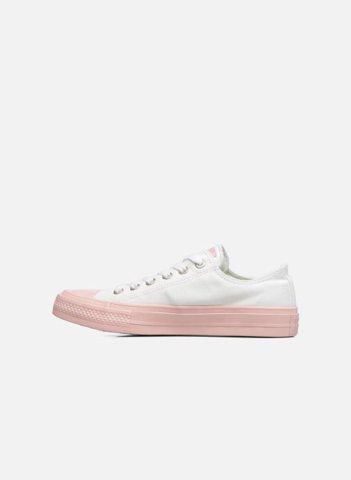 Sneaker Converse Chuck Taylor All Star II Ox Pastel Midsoles W weiß ansicht von vorne