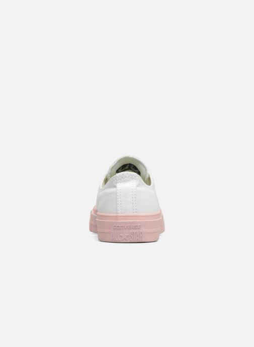 Sneaker Converse Chuck Taylor All Star II Ox Pastel Midsoles W weiß ansicht von rechts