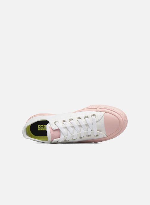 Sneaker Converse Chuck Taylor All Star II Ox Pastel Midsoles W weiß ansicht von links