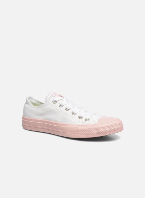 Sneaker Converse Chuck Taylor All Star II Ox Pastel Midsoles W weiß detaillierte ansicht/modell
