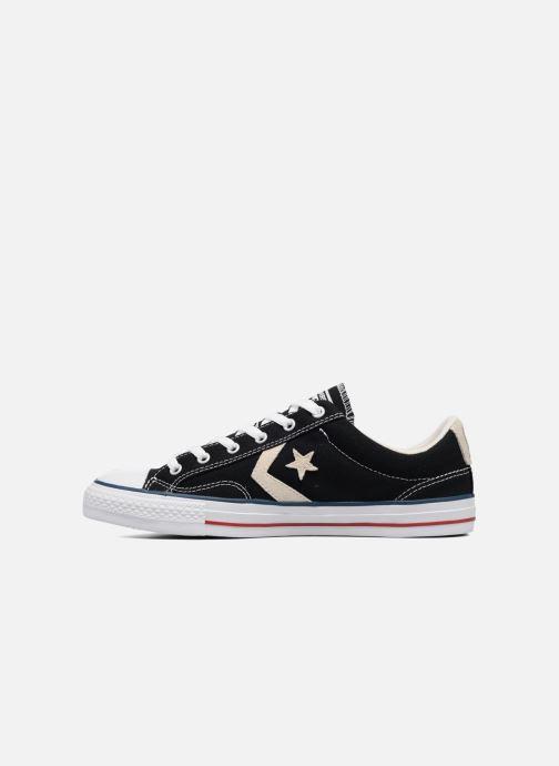 Sneaker Converse Star Player Ox Evergreen schwarz ansicht von vorne
