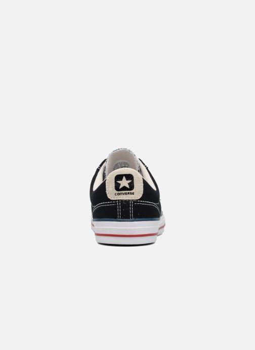 Sneaker Converse Star Player Ox Evergreen schwarz ansicht von rechts