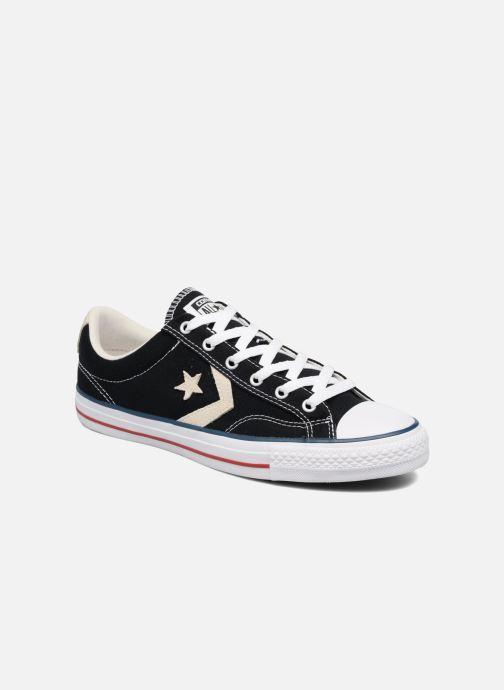 Sneakers Converse Star Player Ox Evergreen Zwart detail