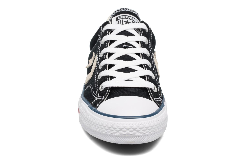 Baskets Converse Star Player Ox Evergreen Noir vue portées chaussures