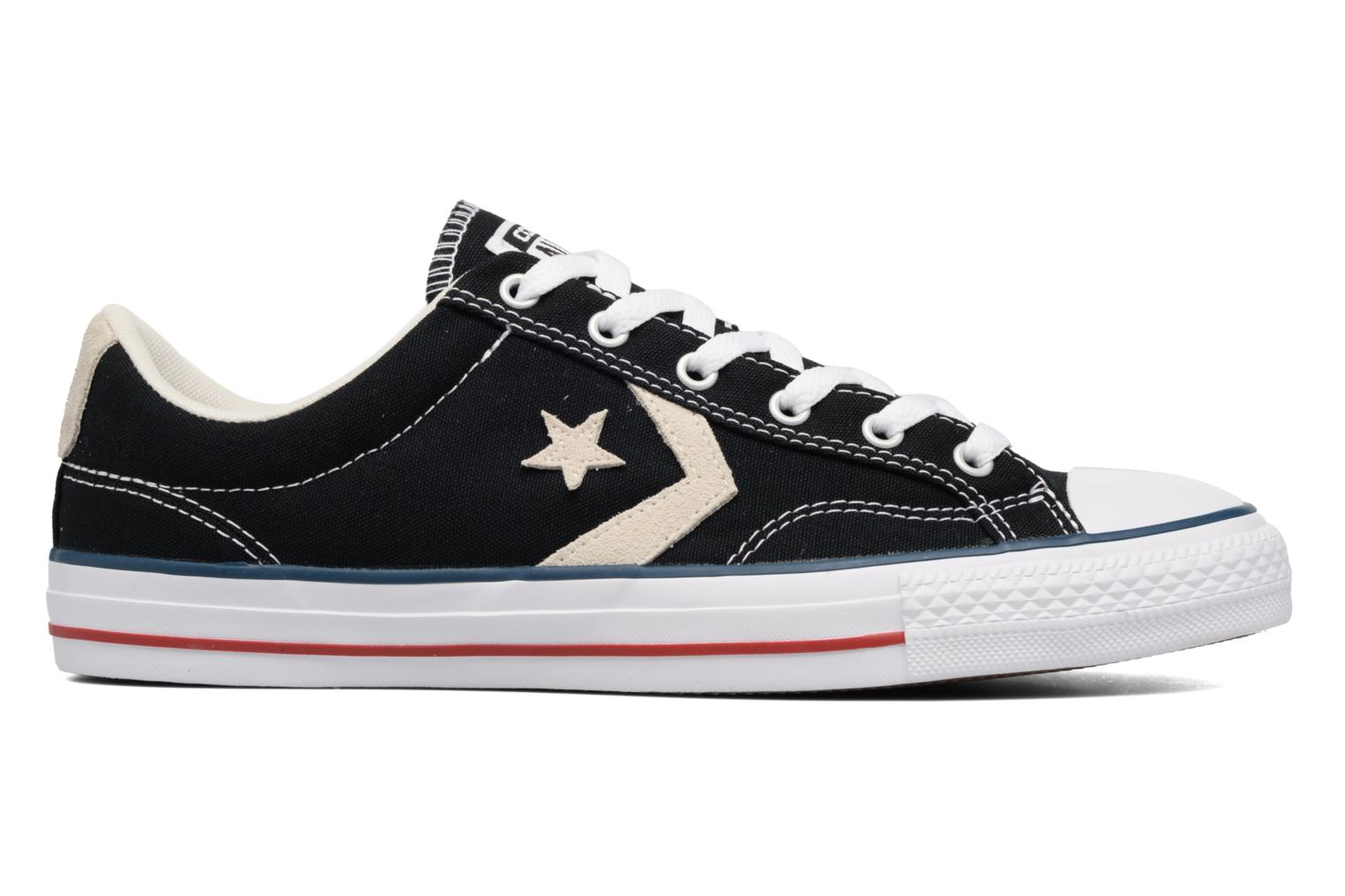 Baskets Converse Star Player Ox Evergreen Noir vue derrière