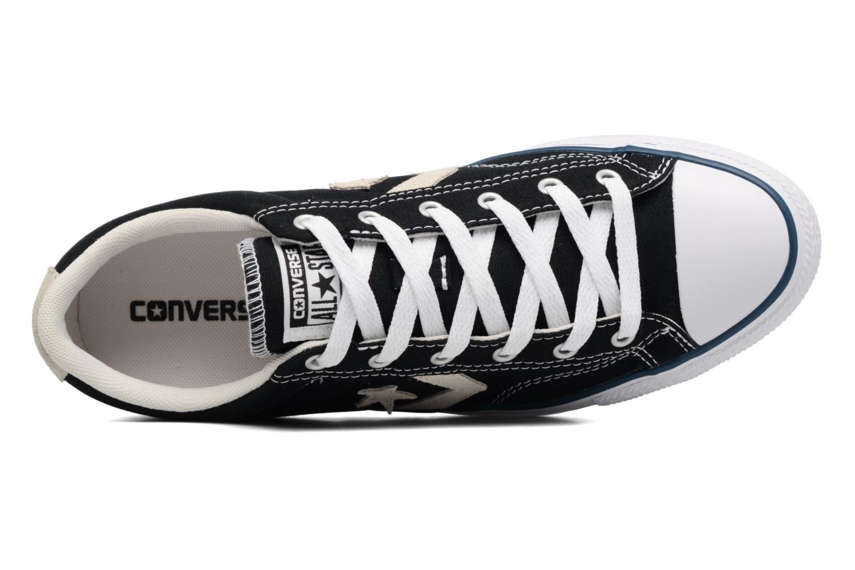 Baskets Converse Star Player Ox Evergreen Noir vue gauche