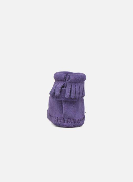 Bottines et boots Minnetonka Back Strap Bootie Violet vue droite