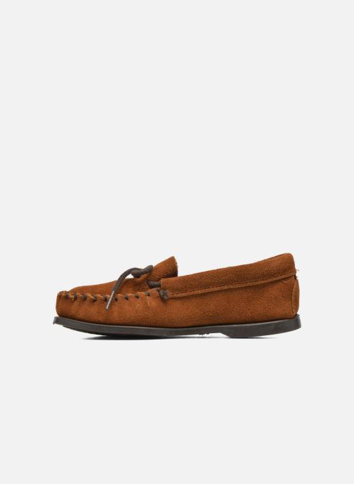 Mocassins Minnetonka Unbeaded Classic Moc Marron vue face