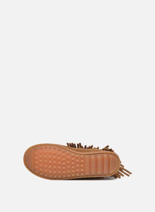 Laarzen Minnetonka 3-Layer Fringe Boot E Bruin boven