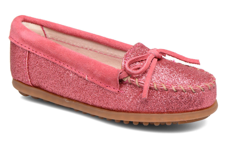 Slipper Minnetonka Glitter Moc rosa detaillierte ansicht/modell