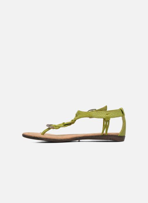 Sandales et nu-pieds Minnetonka Carnival Thong Vert vue face