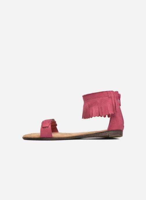 Sandaler Minnetonka Nikita Sandal Pink se forfra