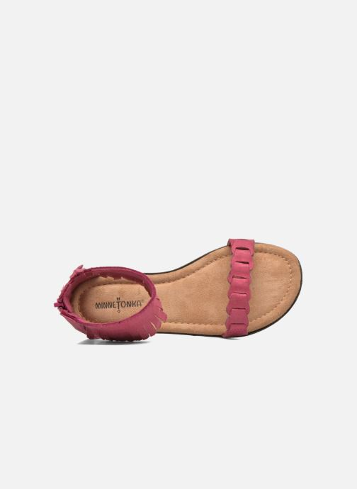 Sandali e scarpe aperte Minnetonka Nikita Sandal Rosa immagine sinistra
