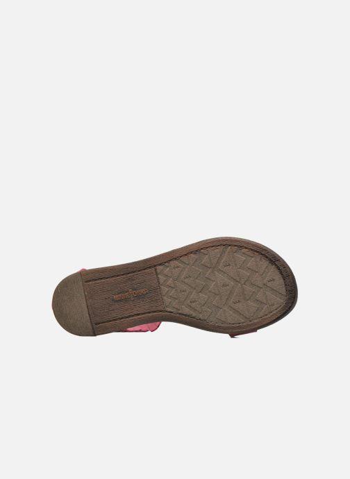 Sandali e scarpe aperte Minnetonka Nikita Sandal Rosa immagine dall'alto