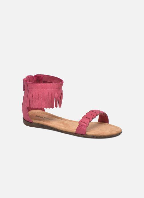 Sandaler Minnetonka Nikita Sandal Pink detaljeret billede af skoene