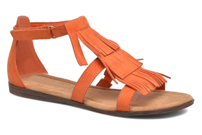 Sandalen Minnetonka Maya Sandal Oranje detail