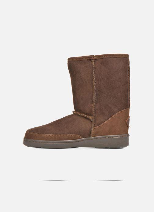 Bottines Pug Short marron Et Boot Chez Sheepskin Boots W Minnetonka YA7FqSAx